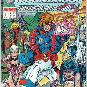 WILDC.A.T.S #1 (1992) 1st PRINTING, 1st App Wildcats/1st Wildstorm Book. Comic Book, Image, Jin Lee, White Pages