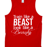 train like a beast Tank Top
