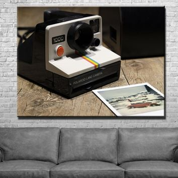 Classic Polaroid Canvas Set