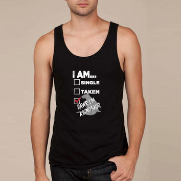 I am...RAWR I'm a Dinosaur Tank Top