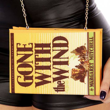 Gone With The Wind Book Clutch Purse