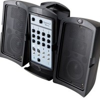Fender Passport 150 PRO Portable PA System with Mixer and Speakers