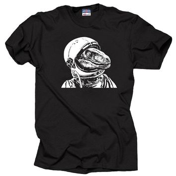 Space Dinosaur Astronaut T-shirt Men's