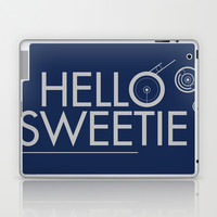 Doctor Who - Hello Sweetie Laptop & iPad Skin by John Takacs