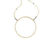 Large 14k Blake Pendant Necklace - Lana