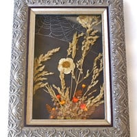 Framed Halloween Shadowbox Fall Nature Wall Decor