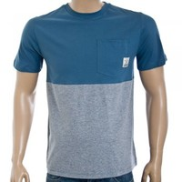 Voi Jeans Voi Jeans Afix t-shirt blue/ashes - Voi Jeans from Great Clothes UK