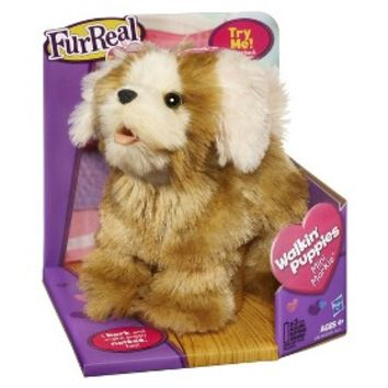 FurReal Friends Walkin' Puppies Mini Morkie Pet