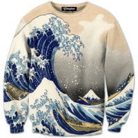 Great Wave Crewneck