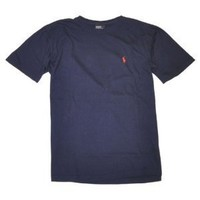 Polo Ralph Lauren Men Pony Logo T-Shirt (XX-Large, Navy)