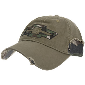 Chevrolet - Camo Logo Adjustable BaseballCap