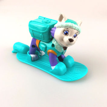 Patrulla canina toy Everest patrol dog for kid toys boy and girl toys For Child Gift