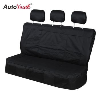 AUTOYOUTH Car Seat Covers 3 Colors Rear Seat Covers Durable Oxford Cloth Car-Styling Fit For Most New Cars Interior Accessories