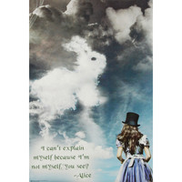 Alice In Wonderland - Domestic Poster