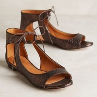 Miss Albright Scaled Cut-Out Flats