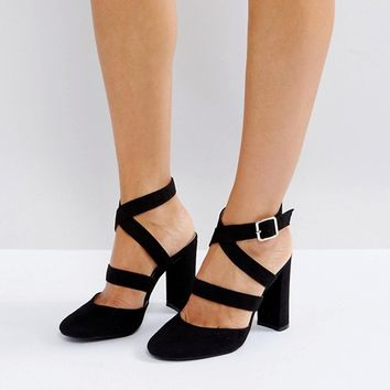 London Rebel High Heels at asos.com