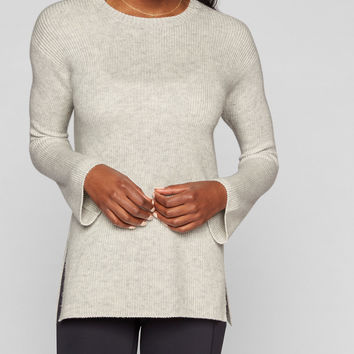 Wool Cashmere Bell Sleeve Sweater | Athleta