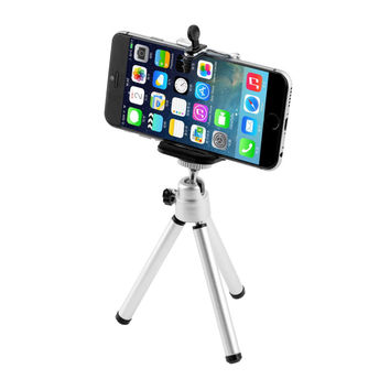 1set Universal Mini Stand Tripod Mount+Holder for iPhone 6 6Plus 5S 5C 5 for SamSung Hot Worldwide