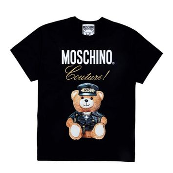 MOSCHINO Women Short Sleeve Bowknot Top