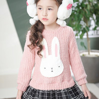 Knitted Bunny Dress