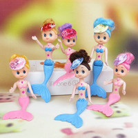 3 pieces 14-15-16cm Cute Doll Cake Baking Molds Naked Barbie Princess Mermaid Decorations Bakeware Tools Kitchen Bakery H110