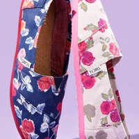 TOMS 'Classic - Floral' Slip-On (Women) | Nordstrom