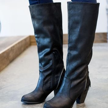 Not Rated Sass It Up Boot - Black