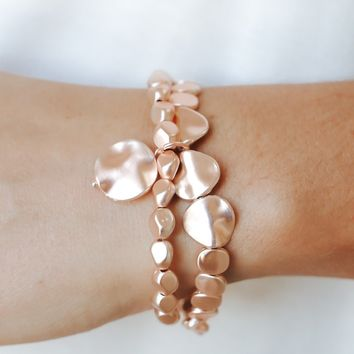 Remain in Love Bracelet - Rose Gold
