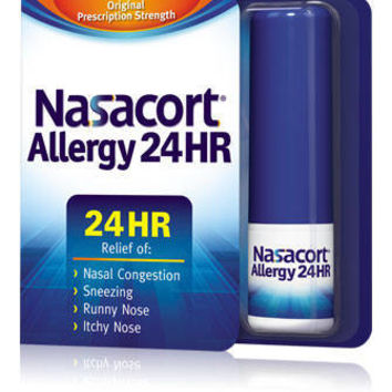 Nasacort Allergy 24HR Nasal Allergy Spray - 120 Sprays : Target