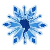 Disney Frozen Let It Go Sticker