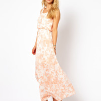Vila Printed Maxi Dress
