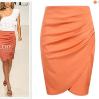 Pencil Skirt Suit OL Skirts