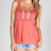 FULL TILT Hook & Eye Womens Babydoll