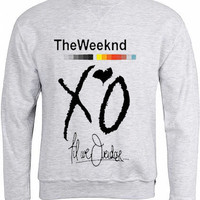the weeknd xo for sweatshirt Mens and Girls for sweatshirt womens and mens heppy feed