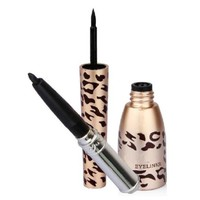 Sannysis 1PC Useful Waterproof Leopard Shell Black Liquid Eye Liner Eyeliner Pen Makeup Cosmetic