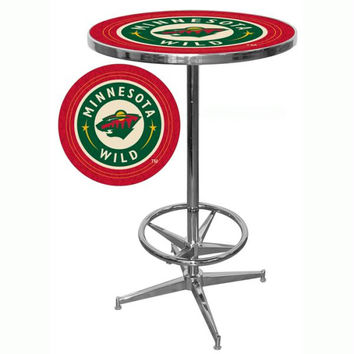 NHL Minnesota Wild Pub Table
