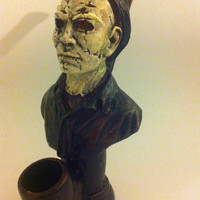HANDMADE TOBACCO PIPE, Michael Myers Design.