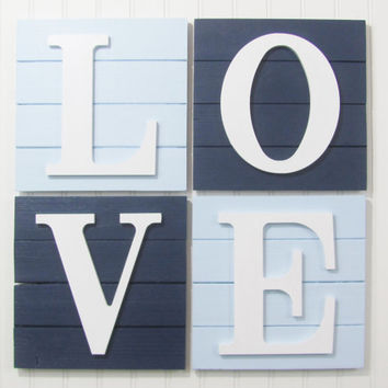 Rustic Decor, Rustic Nursery, Nursery Decor, LOVE Sign, LOVE Decor, Baby Decor, Wooden Love Boards, Pallet Board, Pallet Sign, Rustic Sign