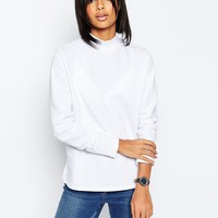ASOS Sweatshirt With High Neck