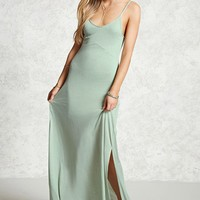 Contemporary Jersey Maxi Dress