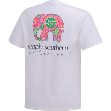 Simply Southern Women's Elephant T-shirt | Academy