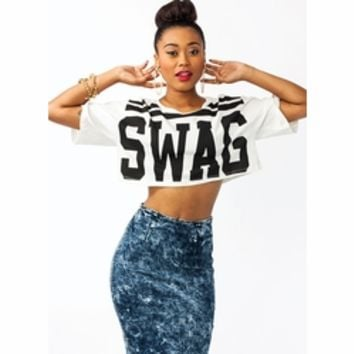 Swagger Jagger Cropped Tee - GoJane.com