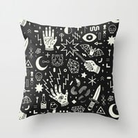 Witchcraft Throw Pillow by LordofMasks
