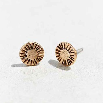 Laurel Hill Circle Arc Earring