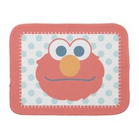 Baby Elmo Face Burp Cloths