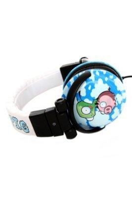Invader Zim GIR And Piggy Stereo Headphones