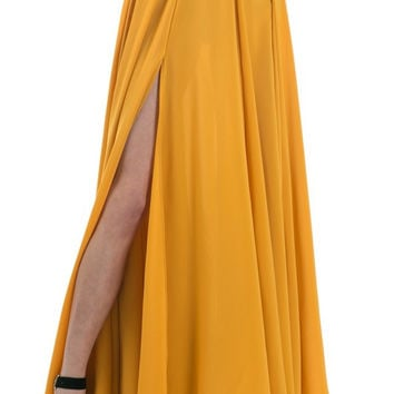 WIDE CIRCLE MAXI SKIRT (more colors)