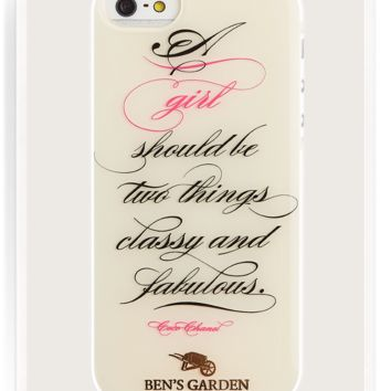 A Girl Should Be Two Things iPhone 5/ 5s Case