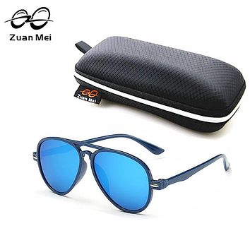Zuan Mei Brand Kids Sunglasses Boys Baby Sunglasses Girls Vintage Children Glasses Pilot Sun Glasses For Boys Gafas De Sol Ninos