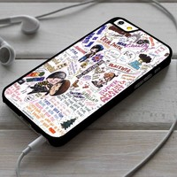 Dan and Phil Collage Custom Case for iPhone 4/4s 5 5s 5c 6 6 plus 7 Case